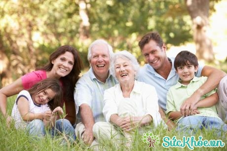 Familiy With Grandparents